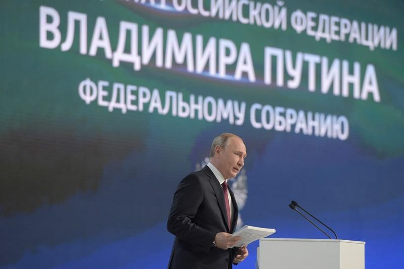 В декабре за 3,5 часа пресс-конференции Путин ошибся 23 раза, в февральском выступлении плотность ошибок выросла. В стенограмму уже внесли правки<br />