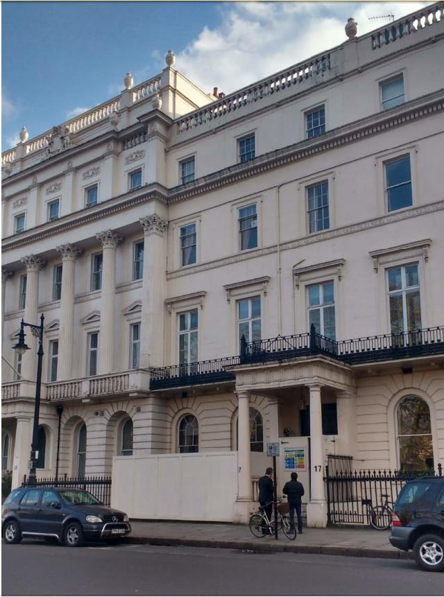 Скриншот документов администрации Лондона